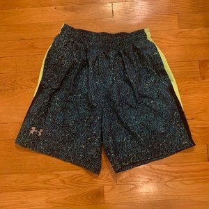 Under Armour men's lined athletic shorts - size m